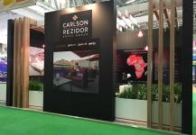 Carlson Rezidor stand build
