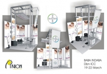 Bayer stand design for Indaba