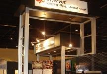 Intervet exhibition stand build