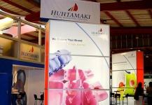 Huhtamaki exhibition stand build