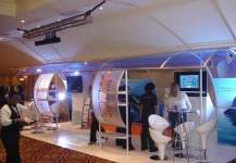 Expo stand build by Pivion