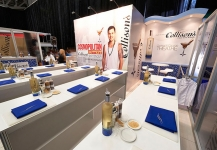 Collisons dining area for exhibition activation