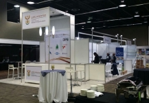 Exhibition build for United Nations Conference 2016